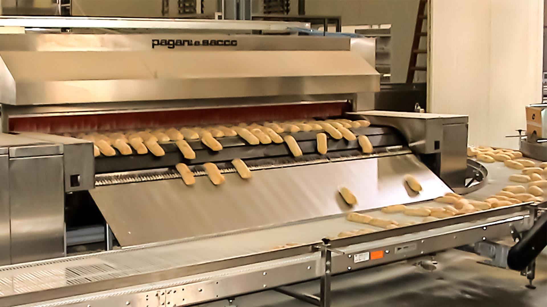 Progettazione di macchine e impianti per ogni tipo di pane